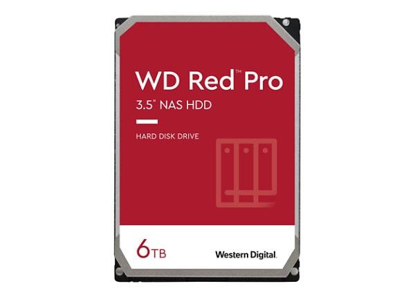 WD Red Pro NAS Hard Drive WD6003FFBX - hard drive - 6 TB - SATA 6Gb/s -