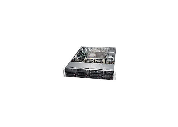 Supermicro SuperServer 6029P-TRT - rack-mountable - no CPU - 0 GB - 0 GB