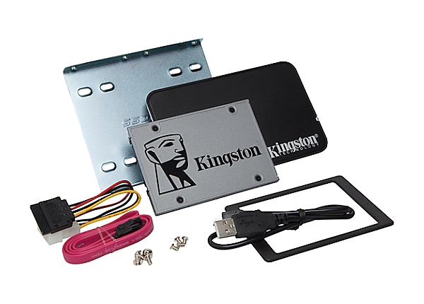 Kingston UV500 Desktop/Notebook upgrade kit - solid state drive - 240 GB -