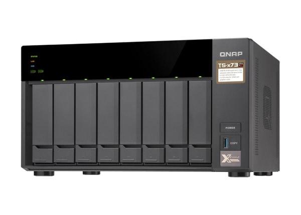 QNAP TS-873-8G - serveur NAS - 0 Go