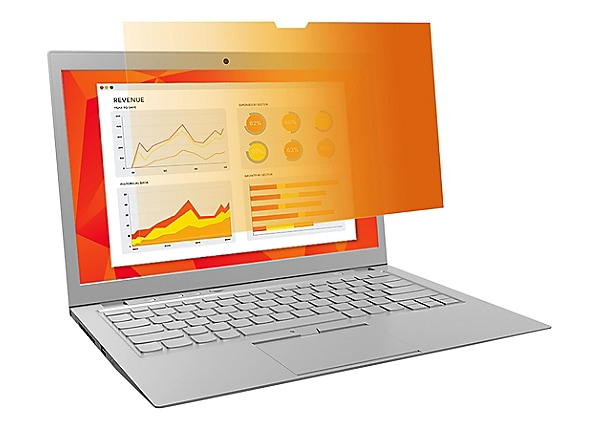 """3M Gold Privacy Filter for 14"""" Widescreen 16:9 Touch Laptop"""
