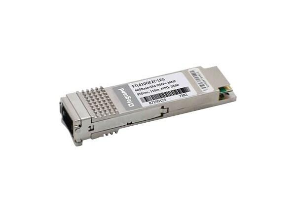 C2G Finisar FTL410QE2C 40GBase-SR4 QSFP+ Transceiver TAA - QSFP+ transceive