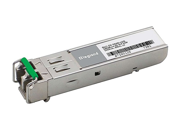 Legrand Cisco GLC-ZX-SMD 1000Base-ZX SFP Transceiver TAA - SFP (mini-GBIC)