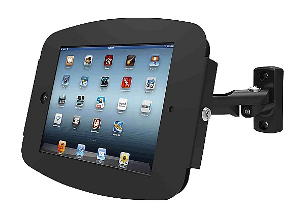 Compulocks Space Swing iPad Enclosure Stand - wall mount (adjustable arm)