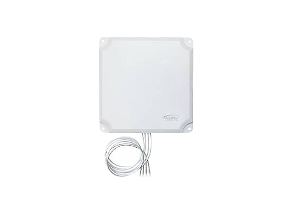 AccelTex 2.4/5GHz 13dBi 4 Element Indoor/Outdoor Patch Antenna