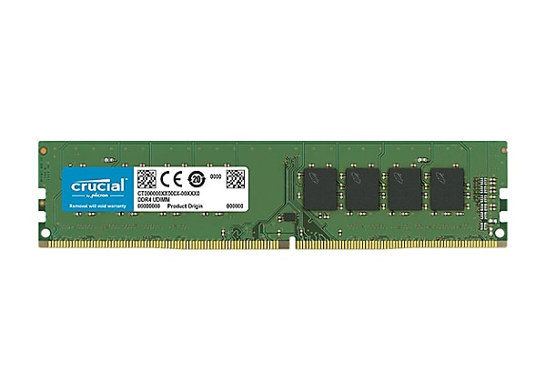 Crucial - DDR4 - 4 GB - DIMM 288-pin - unbuffered