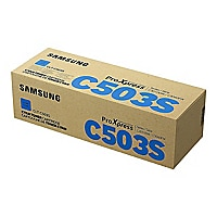 Samsung CLT-C503S - cyan - original - toner cartridge (SU024A)