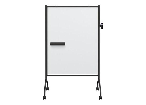 Balt Essential Magnetic Mobile Whiteboard - Black