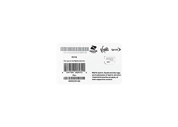 Sprint Bring Your Own Device SIM Activation Kit 2