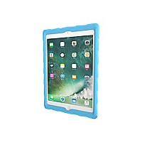 "Gumdrop DropTech Clear Protective Case for iPad 9.7"" Light Blue/Royal Blue"