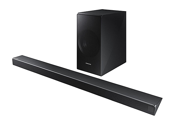 Samsung HW-N550 - sound bar system - for home theater - wireless