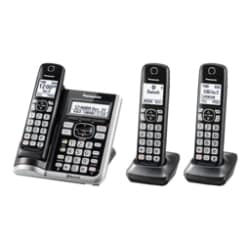 Panasonic KX-TGF573S - cordless phone - answering system - Bluetooth interf