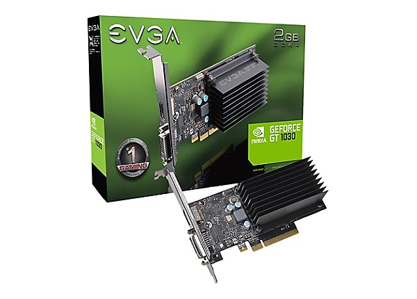 EVGA GeForce GT 1030 - graphics card - GF GT 1030 - 2 GB