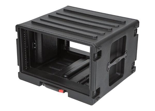SKB 6U Roto Rolling Rack Case