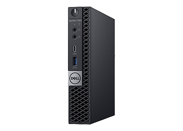 Dell OptiPlex 7060 with 3Y ProSupport - micro - Core i7 8700T 2.4 GHz - 8 G