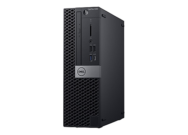 Dell OptiPlex 5060 with 3Y ProSupport - SFF - Core i7 8700 3.2 GHz - 8 GB -
