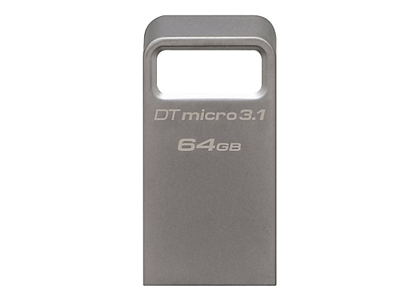 Kingston DataTraveler Micro 3.1 - USB flash drive - 64 GB