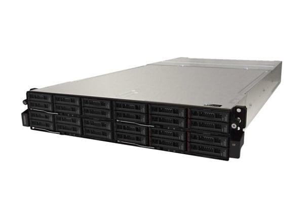 Lenovo Thinksystem D2 7X20 - rack-mountable - 2U - up to 4 blades