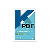 Kofax Power PDF Advanced (v. 3.0) - license - 1 user