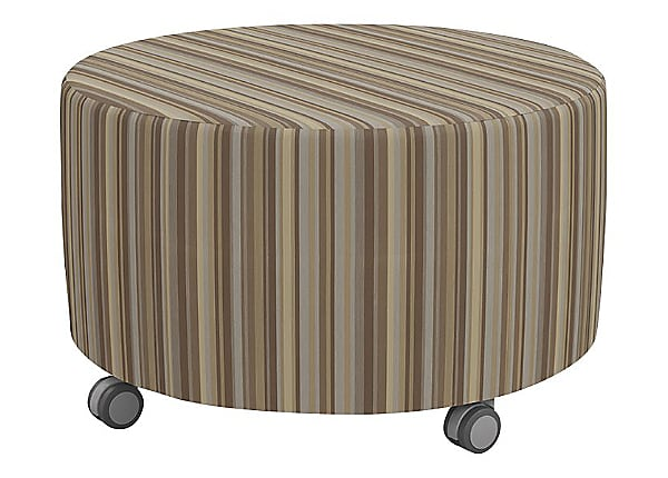 "Balt 30"" Blossom Soft Seating Center Ottoman on Casters"