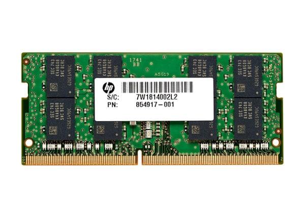 HP - DDR4 - 16 GB - SO-DIMM 260-pin - unbuffered