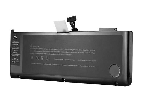 eReplacements - notebook battery - Li-Ion - 7200 mAh