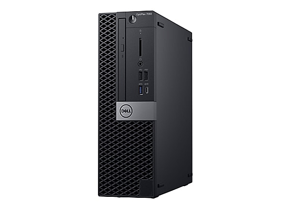 Dell OptiPlex 7060 with 3Y ProSupport - SFF - Core i7 8700 3.2 GHz - 16 GB