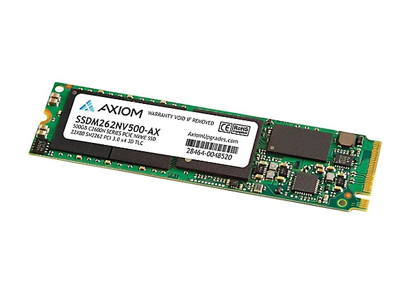 Axiom C2600N Series - solid state drive - 500 GB - PCI Express 3.1 x4 (NVMe