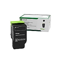Lexmark - Ultra High Yield - black - original - toner cartridge - LCCP, LRP