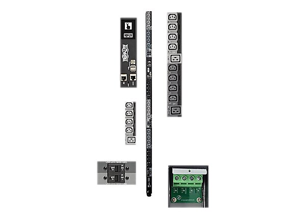 Tripp Lite 3-Phase PDU Switched 28.8kW 220-240V 24 C13 6 C19 Touchscreen 0U