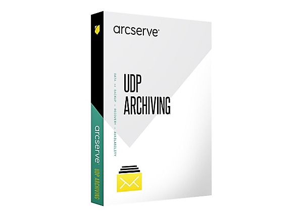 Arcserve UDP Cloud Archiving - subscription license (1 year) - 3 TB storage