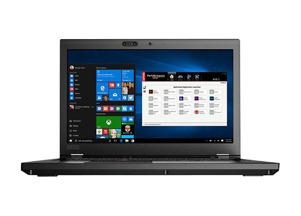 """Lenovo ThinkPad P52 - 15.6"""" - Xeon E-2176M - 16 GB RAM - 512 GB SSD"""