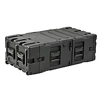 "SKB 5U 30"" Deep Static Removable Shock Rack Transport Case - Black"