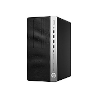 HP ProDesk 600 G4 - micro tower - Core i7 8700 3.2 GHz - 8 GB - HDD 1 TB -