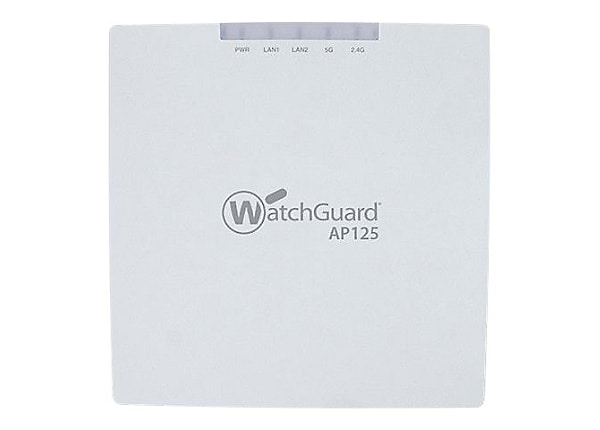WatchGuard AP125 Wireless Access Point with 1 Year Basic Wi-Fi