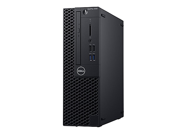 Dell OptiPlex 3060 - SFF - Core i3 8100 3.6 GHz - 4 GB - 500 GB