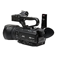 JVC 4K UHD Compact Handheld Streaming Camcorder with Integrated 12x Lens