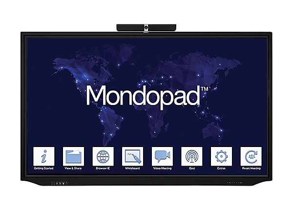 """InFocus Mondopad 86"""" 4K UHD Touch Video Conferencing & Collaboration System"""