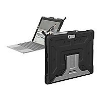 UAG Rugged Case for Microsoft Surface Go - Metropolis Black - back cover fo