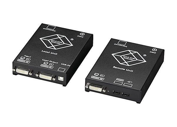 Black Box CATx DVI-D KVM Extender for USB keyboard/Mouse Single Video - KVM
