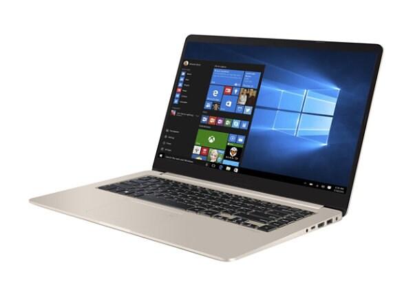 "ASUS VivoBook S15 S510UA-DS71 - 15.6"" - Core i7 8550U - 8 GB RAM - 128 GB S"