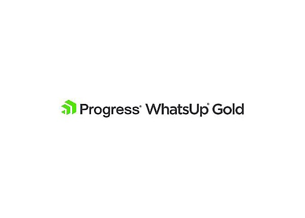 WhatsUp Gold WhatsConnected Standalone - license + 1 Year Service Agreement