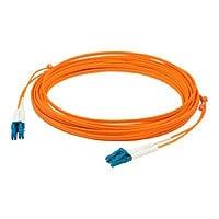 Proline 10m LC (M) to LC (M) Orange OM3 Duplex Fiber OFNR Patch Cable