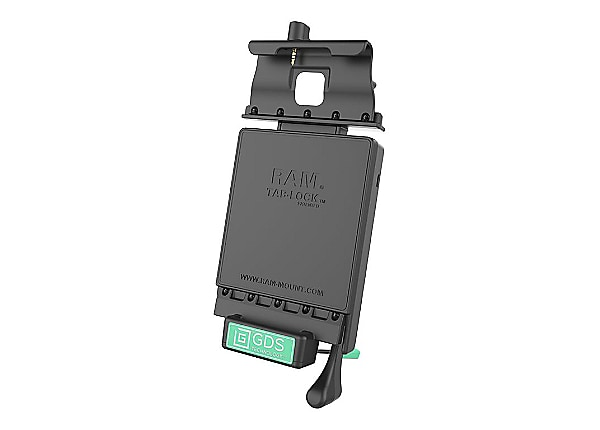 RAM GDS Locking Vehicle Dock with Audio Jumper Cable - car holder/charger f