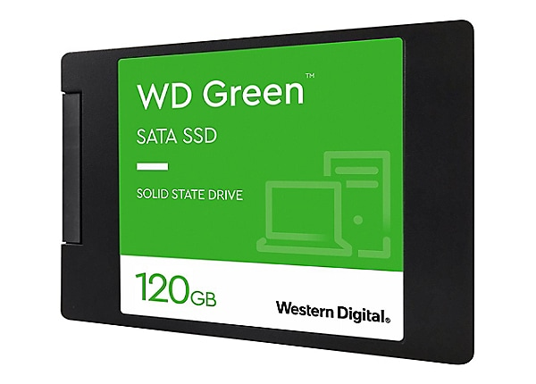 WD Green SSD WDS120G2G0A - solid state drive - 120 GB - SATA 6Gb/s