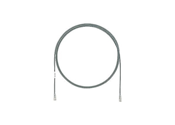 Panduit TX6A-28 Category 6A Performance - patch cable - 23 ft - gray