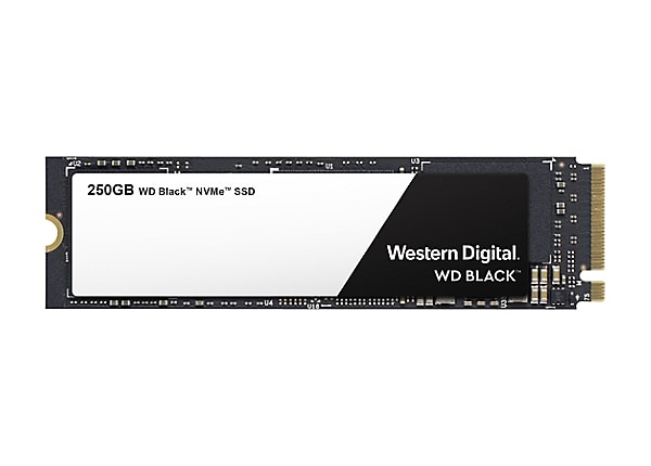 WD Black NVMe SSD WDS250G2X0C - solid state drive - 250 GB - PCI Express 3.