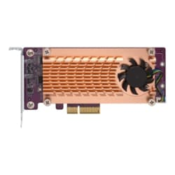QNAP QM2-2S-220A - storage controller - SATA - PCIe 2.0 x2