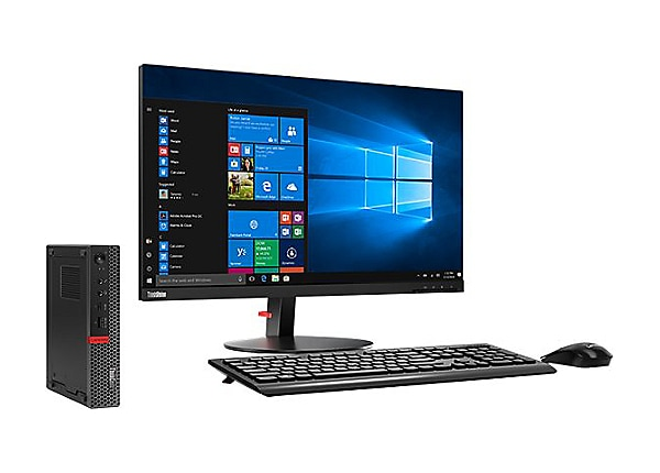 Lenovo ThinkCentre M920q - tiny - Core i5 8500T 2.1 GHz - 8 GB - HDD 1 TB -
