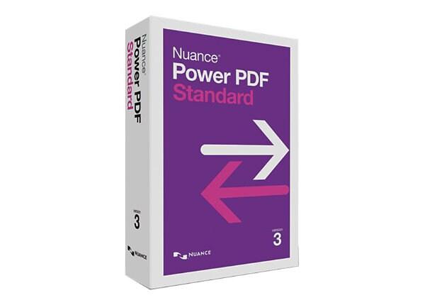 Nuance Power PDF Standard (v. 3.0) - box pack - 1 user